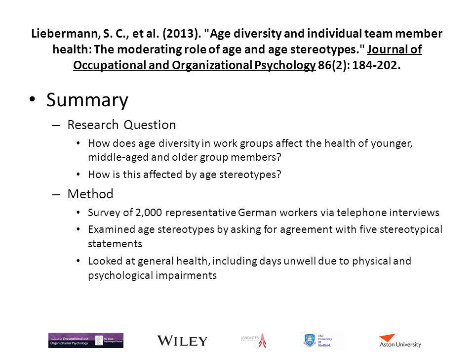 Getting Diversity At Work To Work Ppt Download