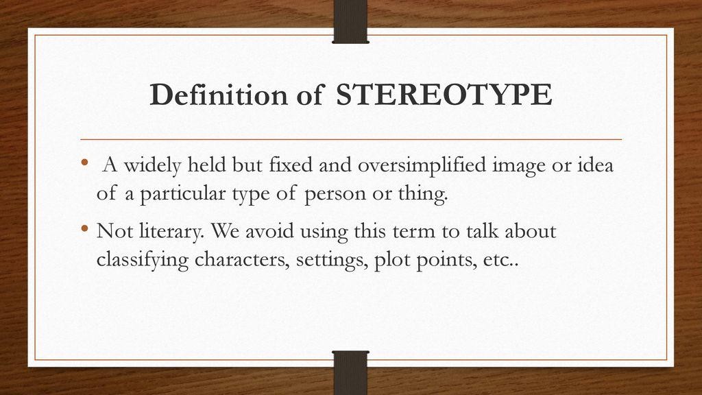 define cliche literary term