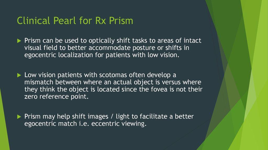f3288e71ecc Prism Applications for Strabismus