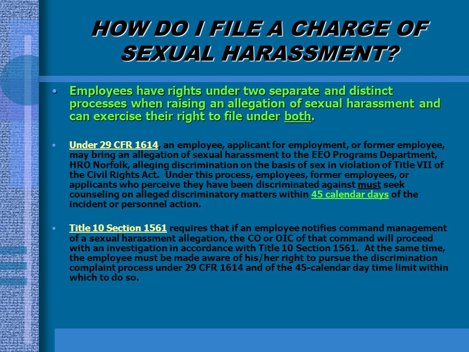 Is sexual harassment a civil rights violation