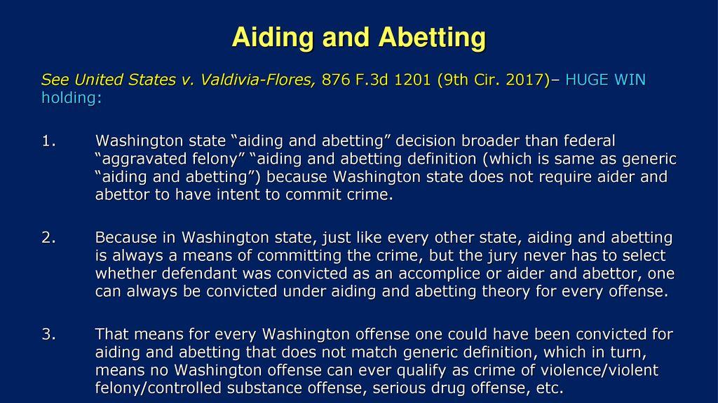 define abettor