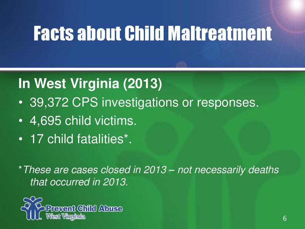 MAKING A DIFFERENCE Preventing Child Abuse & Neglect in West