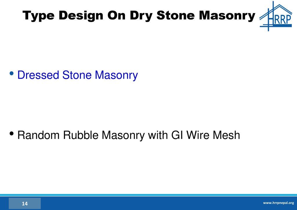 Random Rubble Stone Masonry Rate Analysis