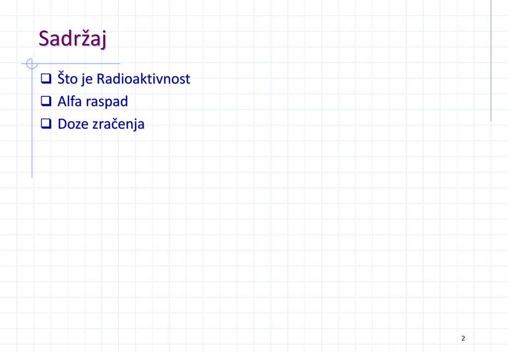 Primjeri radioaktivnog datiranja
