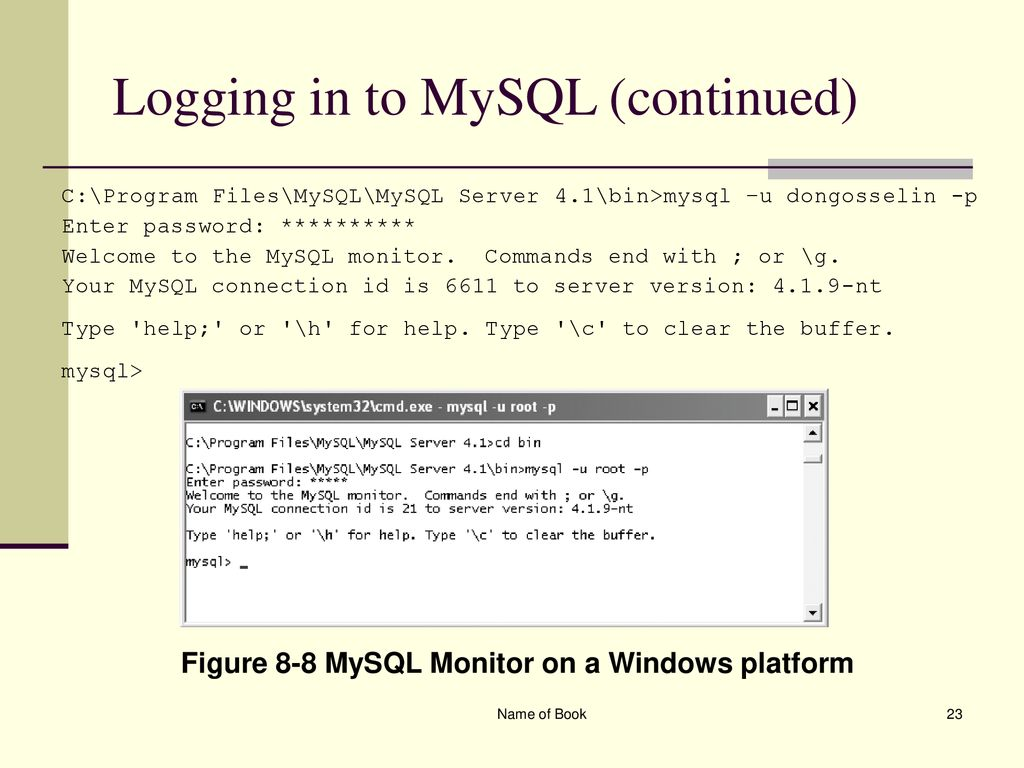 Chapter 8 Working with Databases and MySQL - ppt download