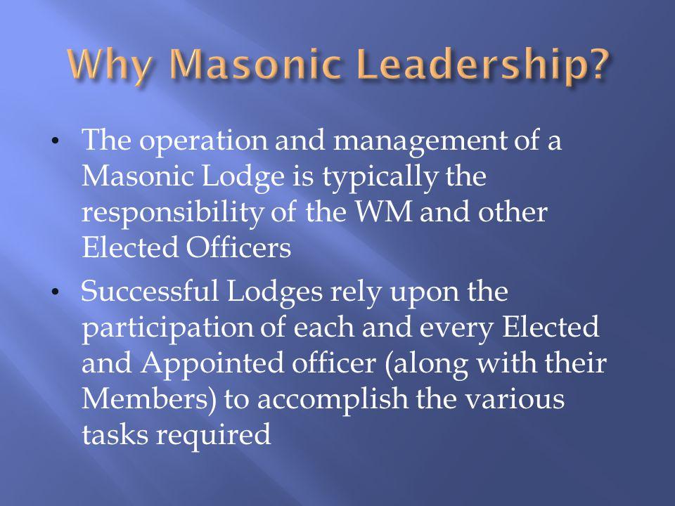 Masonic Leadership Training - ppt download