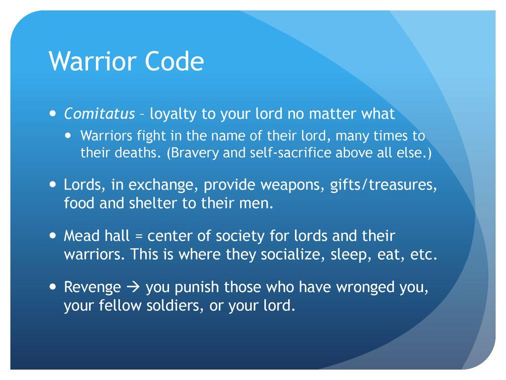 comitatus code