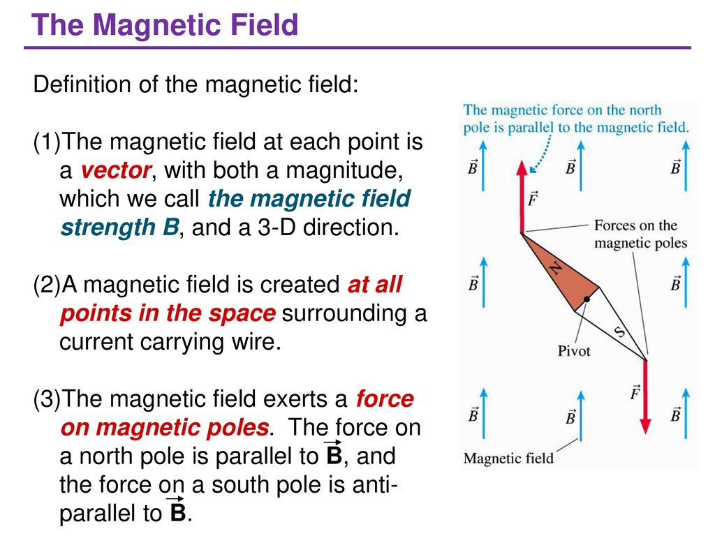 magnetic field and magnetic forces - ppt download
