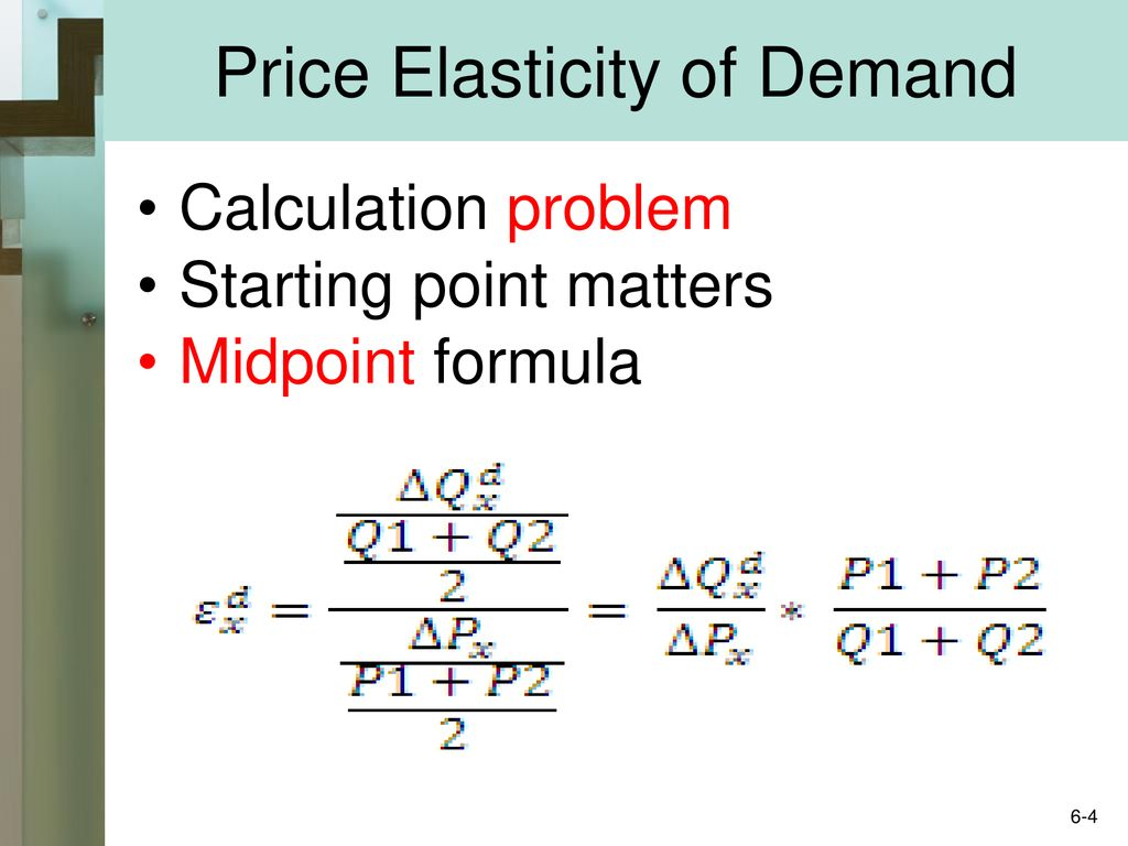 Chapter 6 Elasticity Of Demand Supply Mcgraw Hill Irwin Ppt