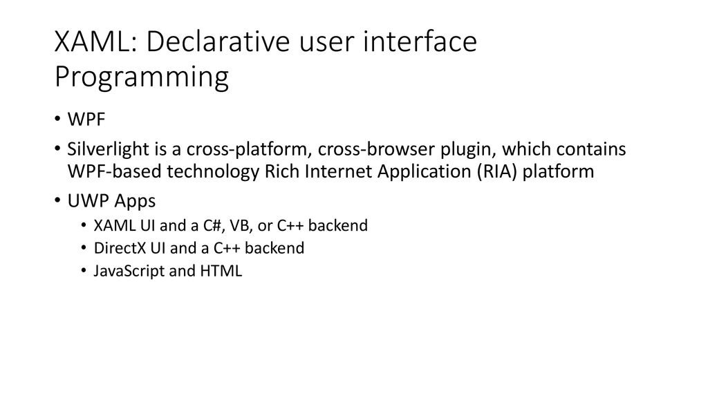 NET and  NET Core 7  XAML Pan Wuming ppt download