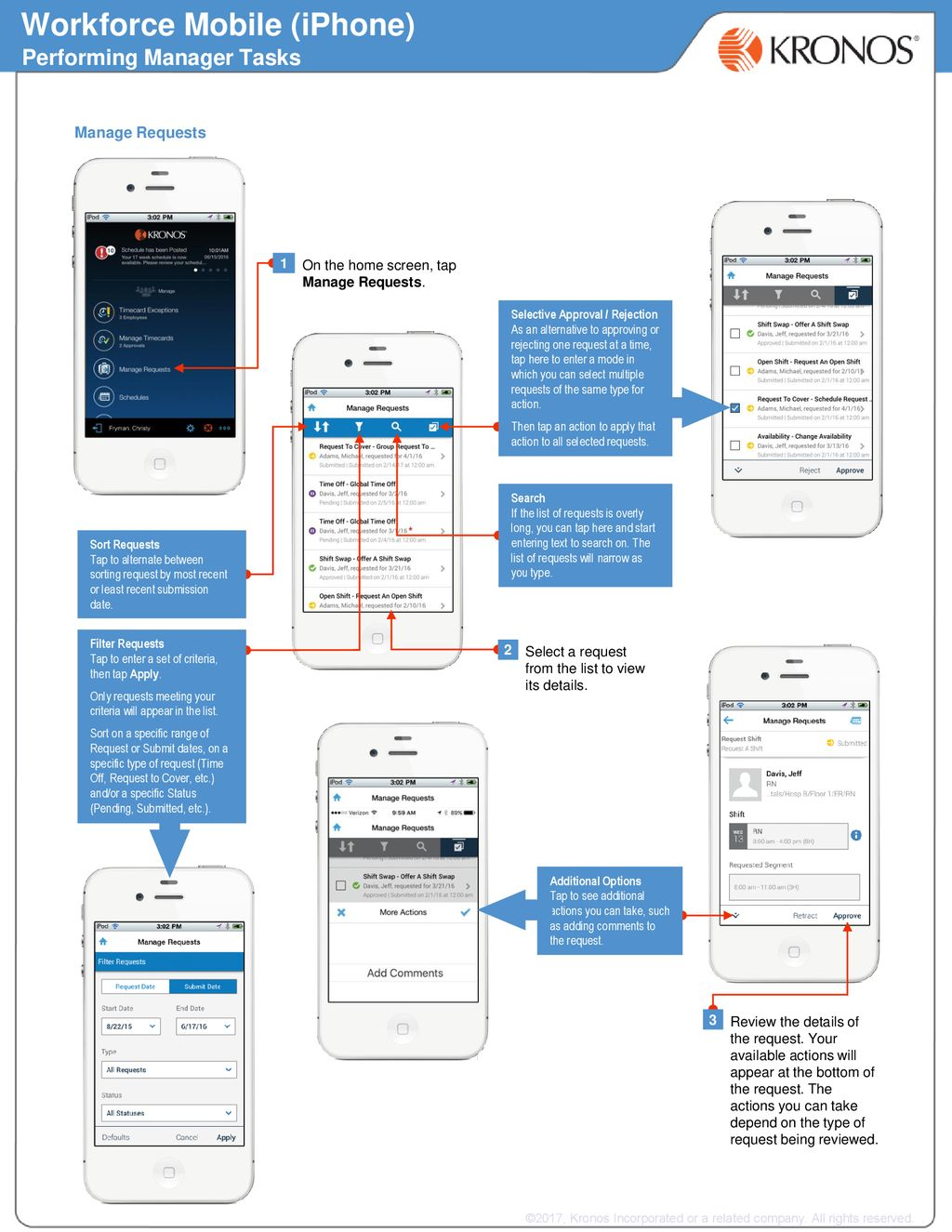 Workforce Mobile (iPhone) - ppt download