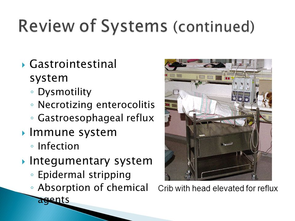 Review of Systems (continued)