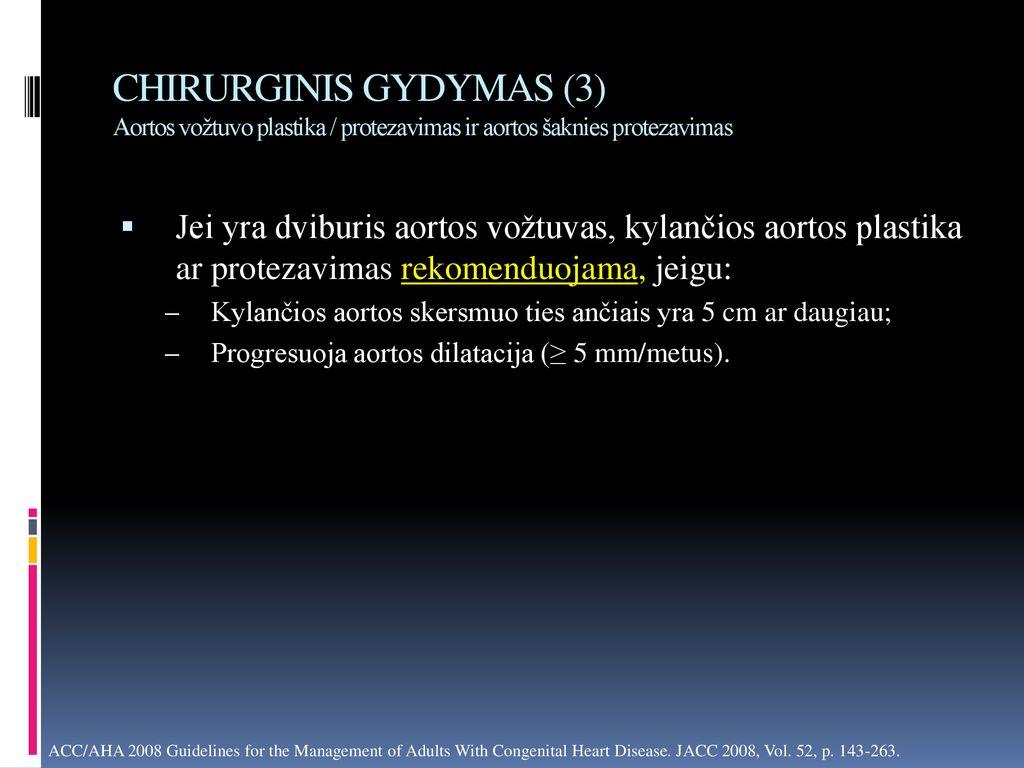 hipertenzijos gydymas chirurginiu būdu