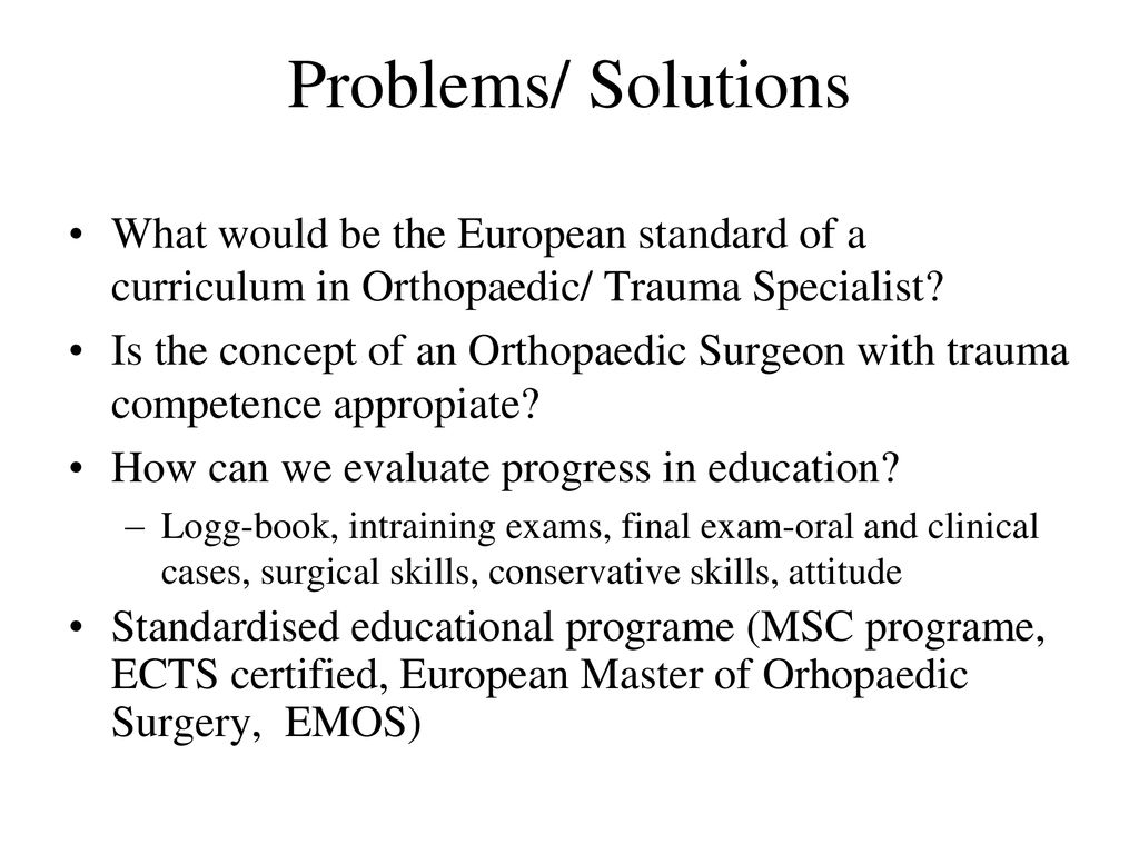 President of the Austrian Society of Orthopedic - ppt download