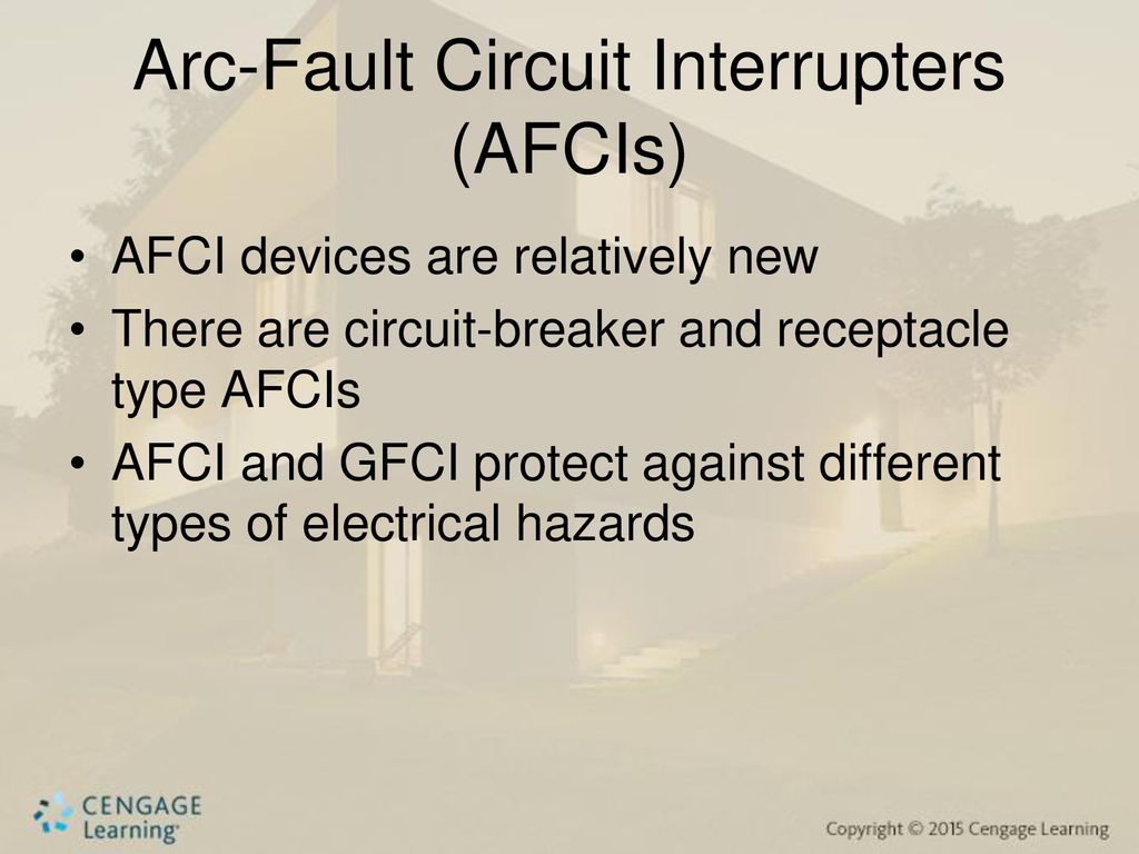 Chapter Six Ground Fault Circuit Interrupters Arc Breakers 14