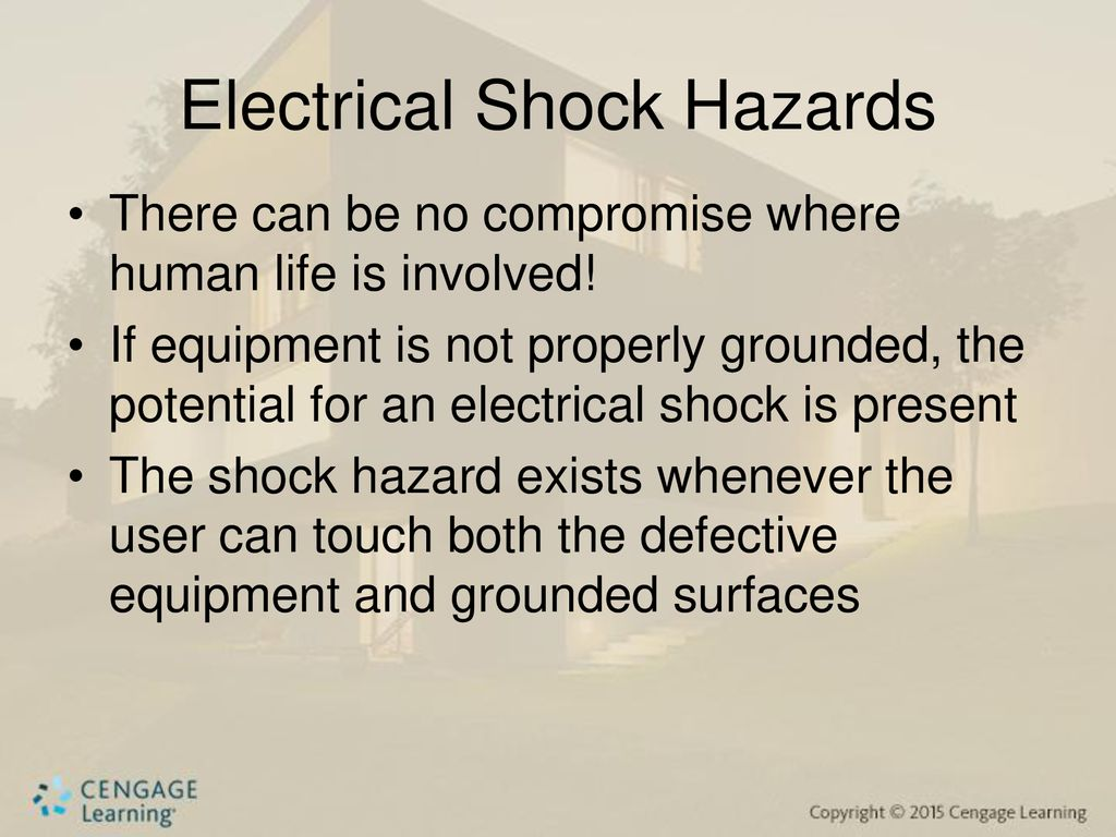 Chapter Six Ground Fault Circuit Interrupters Arc Interrupter Or Afci Fundamentals 4 Electrical Shock Hazards