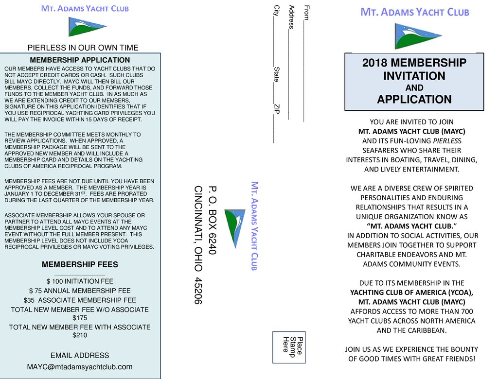 2018 MEMBERSHIP INVITATION AND APPLICATION - ppt download