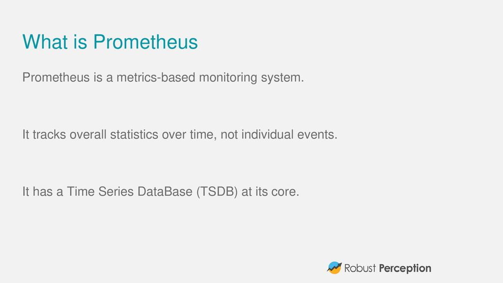 Evolving Prometheus for the Cloud Native World - ppt download
