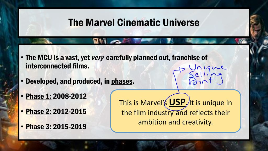 The Marvel Cinematic Universe - ppt download