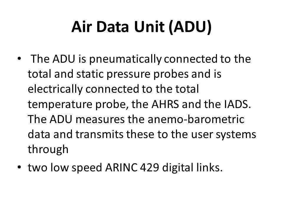 Air Data Unit (ADU)
