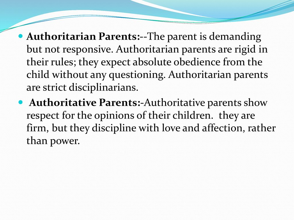Parenting-Child Relationship - ppt download