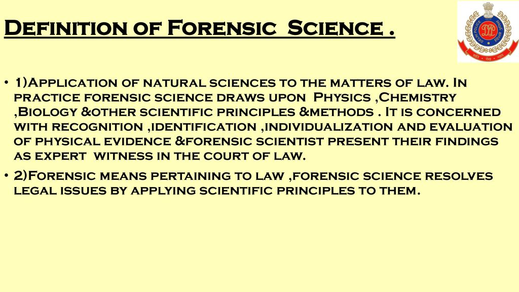 History Of Forensic Science Ppt Download