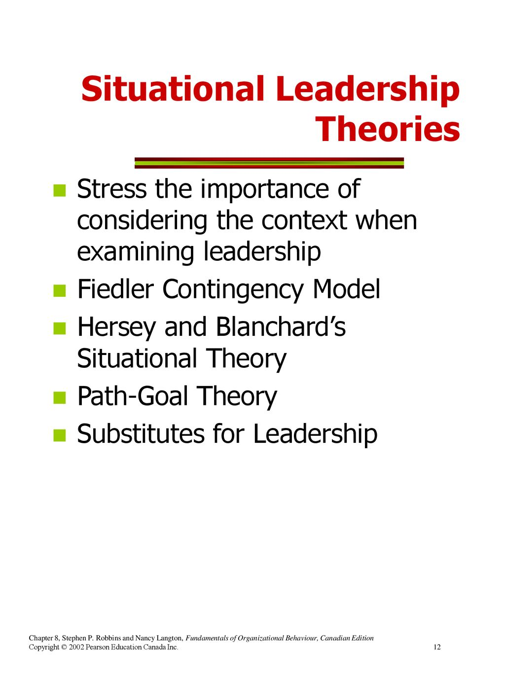 why is situational leadership important