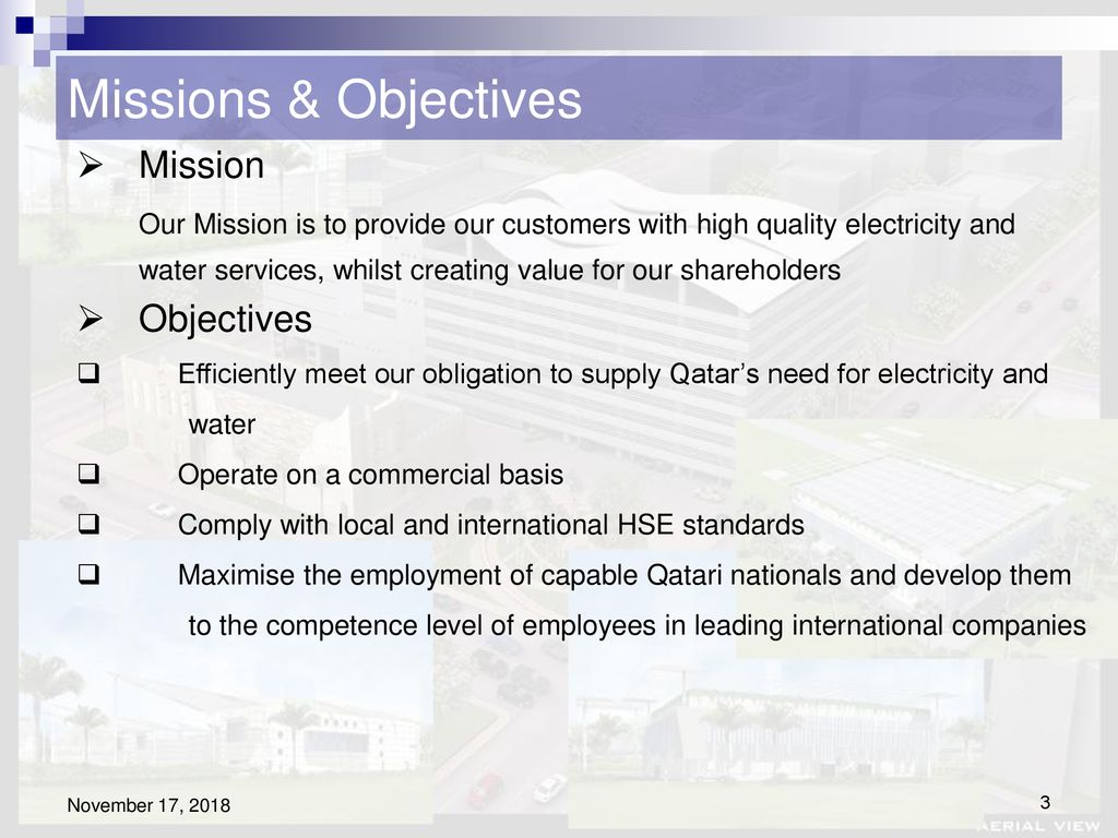 Qatar General Electricity & Water Corporation - ppt download