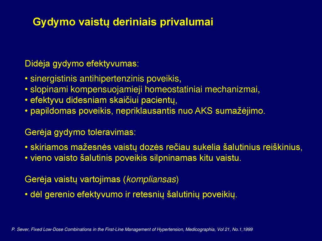 b hipertenzijos vaistų blokatoriai)