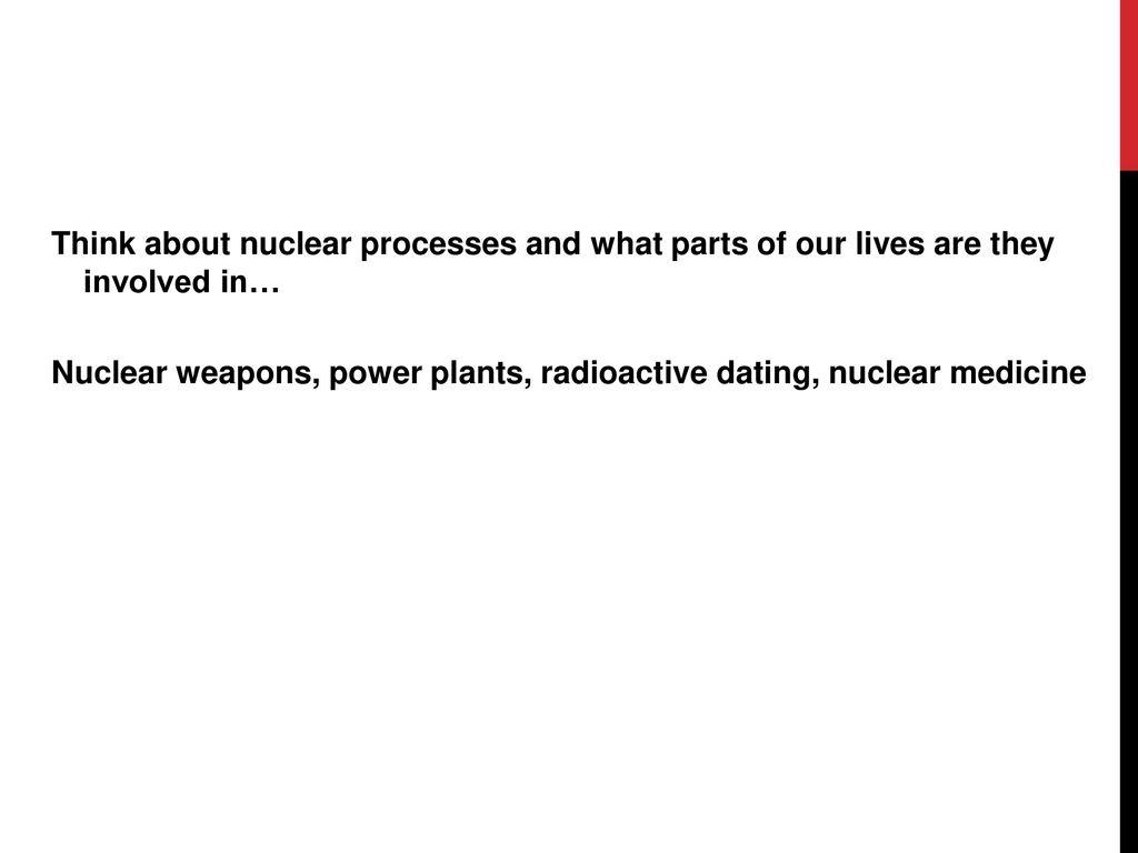 radioactive dating in medicine