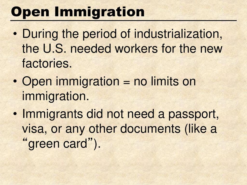 why were nativists opposed to immigration