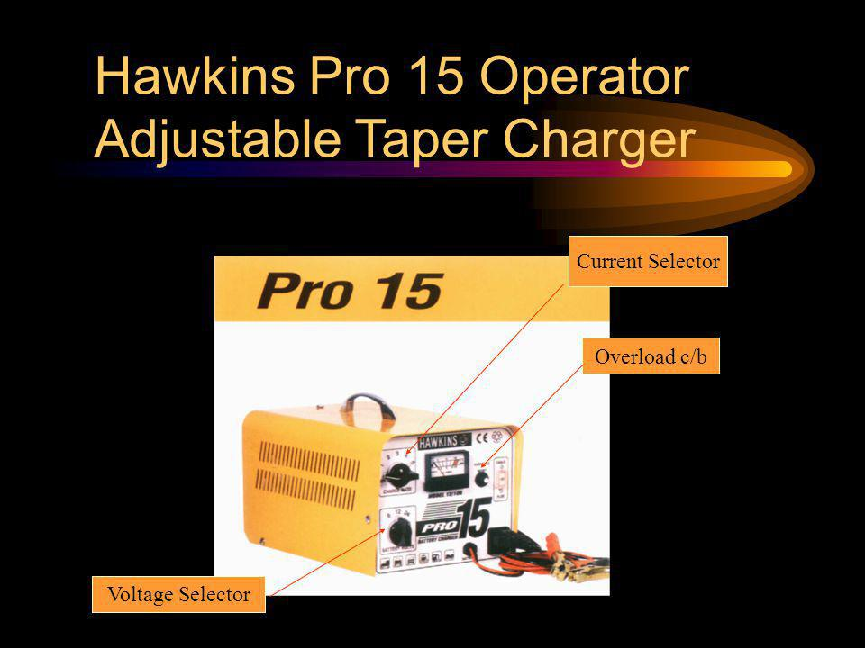 Hawkins Pro 15 Operator Adjustable Taper Charger