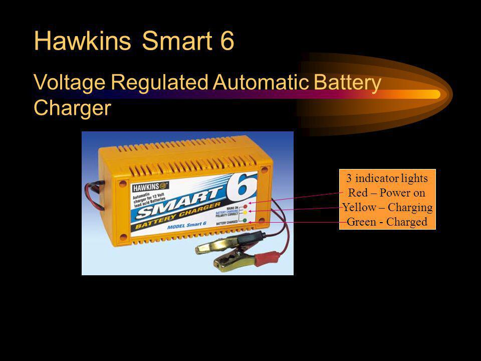 Hawkins Smart 6 Voltage Regulated Automatic Battery Charger