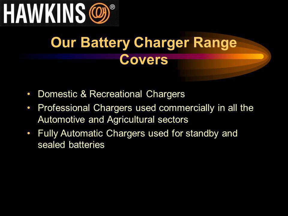 Our Battery Charger Range Covers