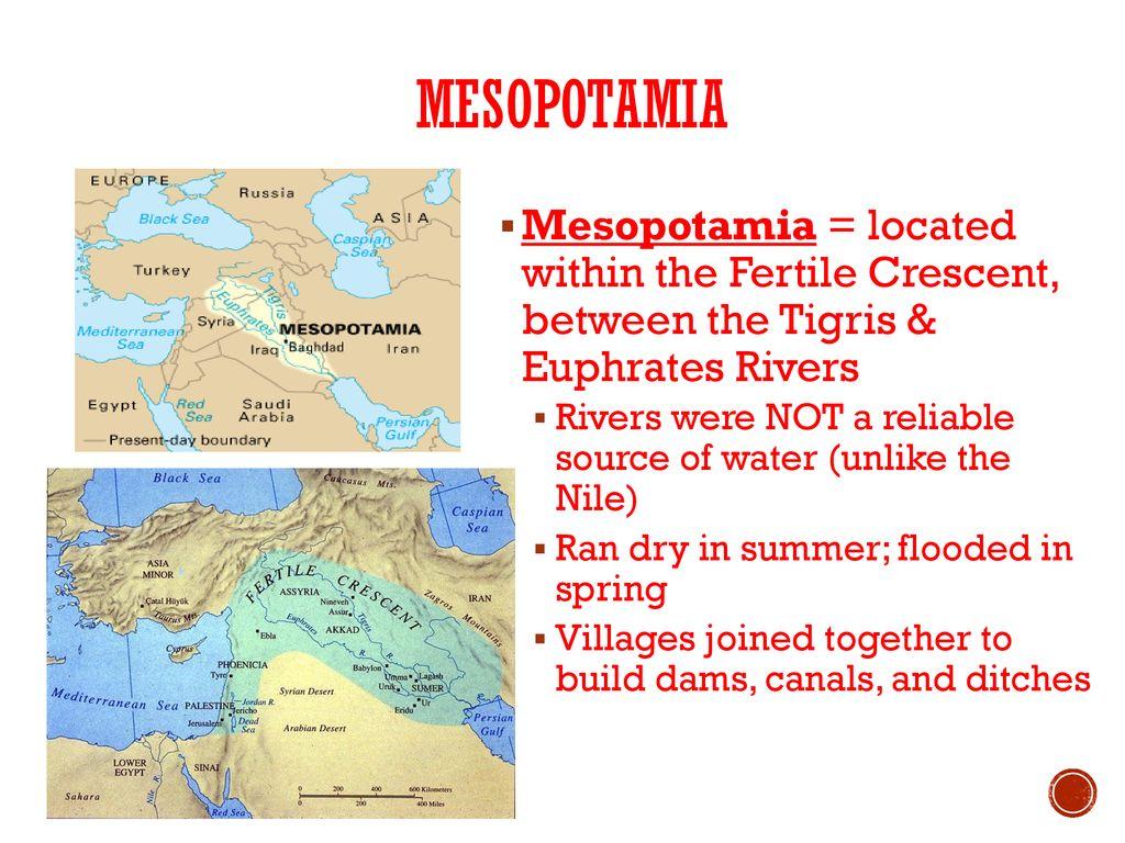 mesopotamia the fertile crescent ppt download