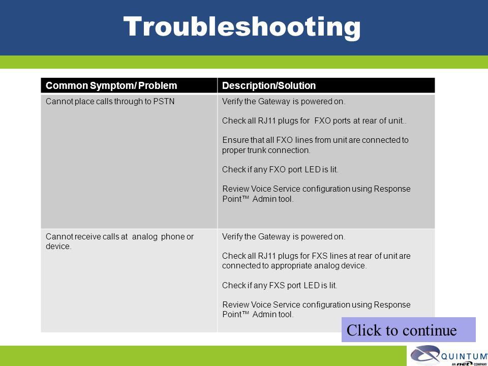 Quintum Technical Training - ppt download