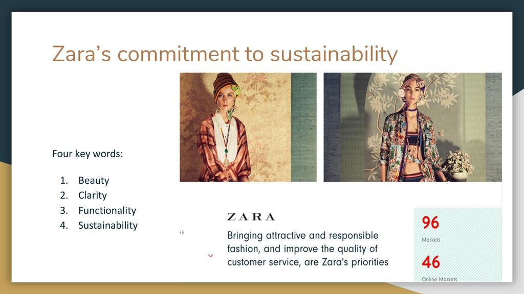 Zara and the Ethics of Sustainability in Fast Fashion - ppt download