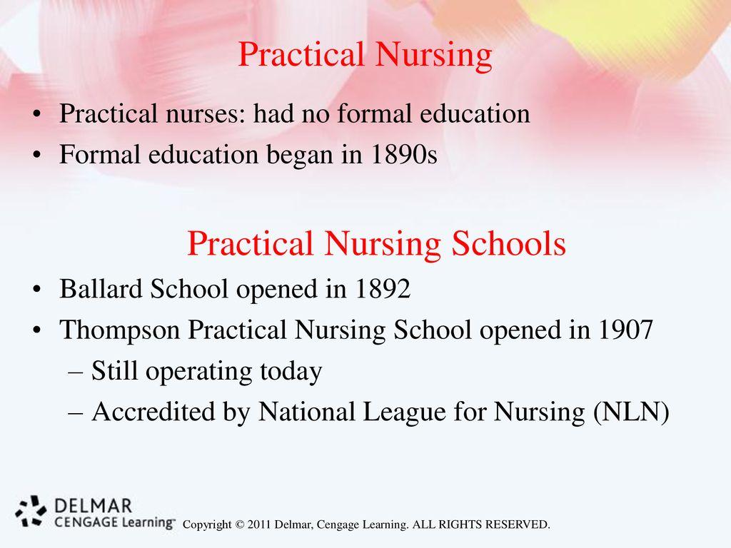 Practical Nursing Schools