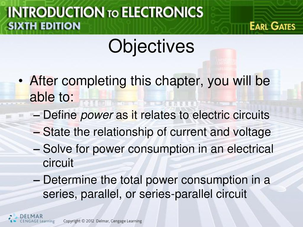 Chapter 7 Power Ppt Download Define Series And Parallel Circuits 2 Objectives