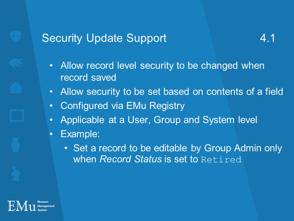 Security Update Support 4.1
