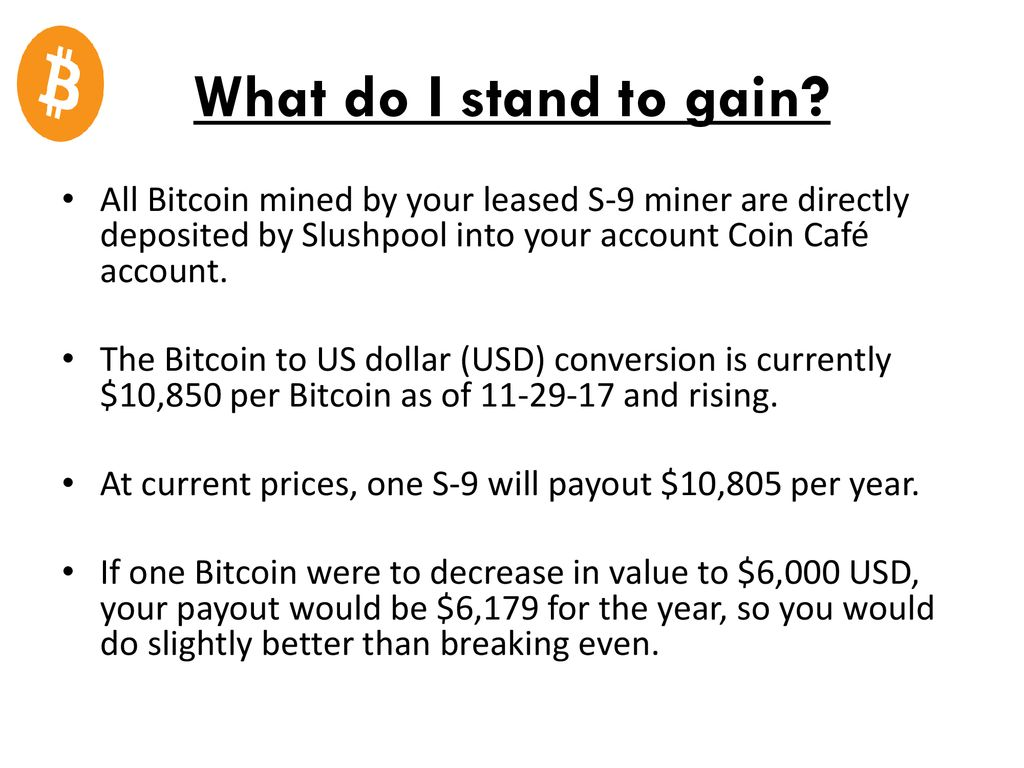 Crypto Mining LLC  - ppt download