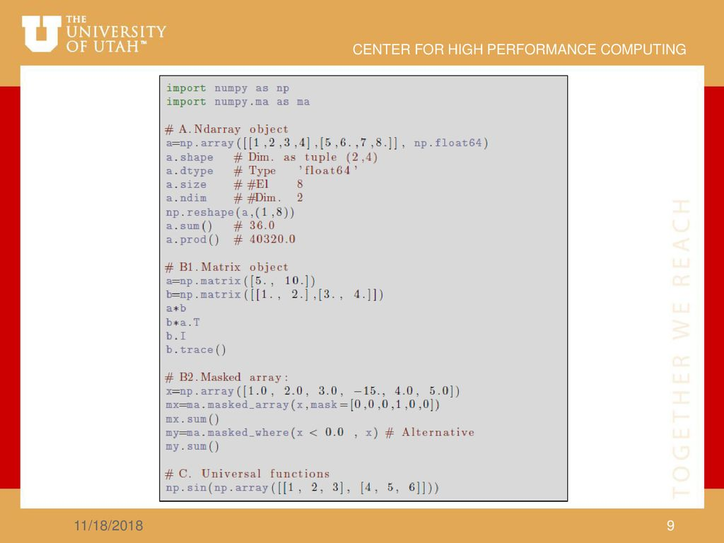 Python for Scientific Computing - ppt download