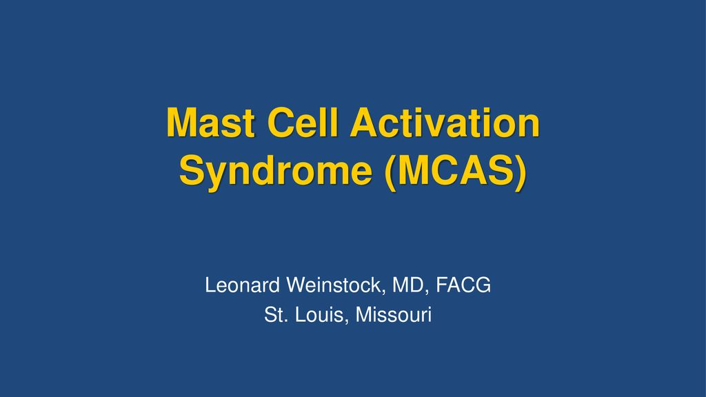 mast cell activation disorder medications to avoid