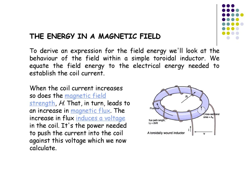 Magnetic Properties Of Materials Ppt Download Molecular Expressions Electricity And Magnetism Inductance The Energy In A Field
