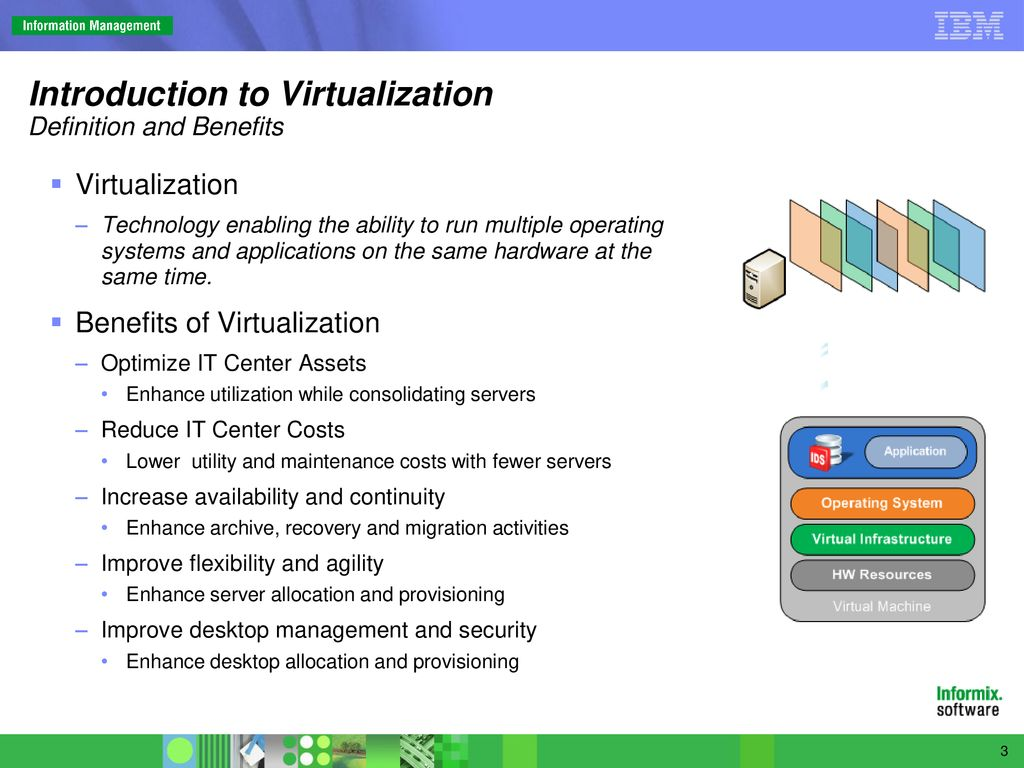 virtualization with informix dynamic server - ppt download
