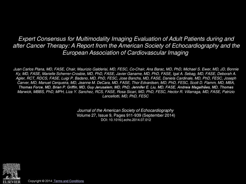 Expert Consensus for Multimodality Imaging Evaluation of