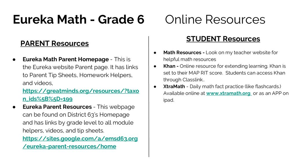 Core Curriculum 6th Grade - ppt download