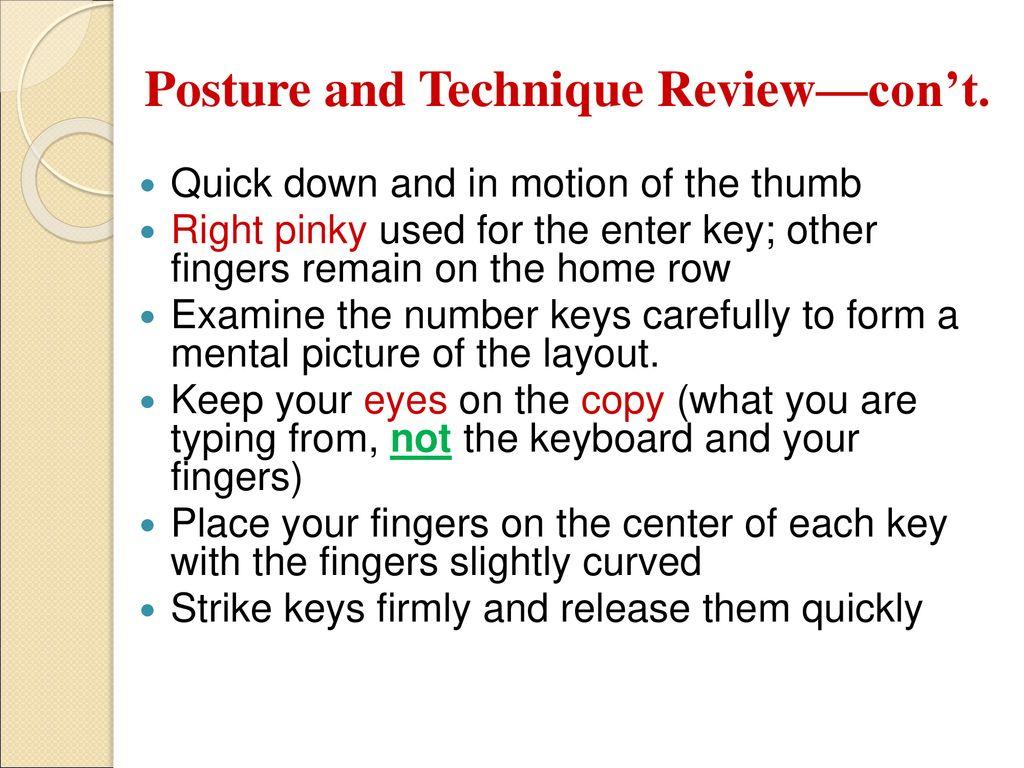 Keyboarding – Symbol Keys - ppt download