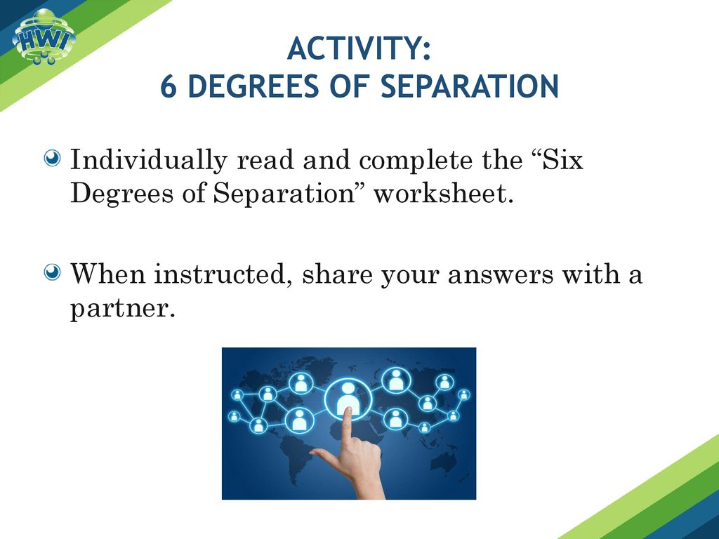 Activity 6 Degrees Of Separation