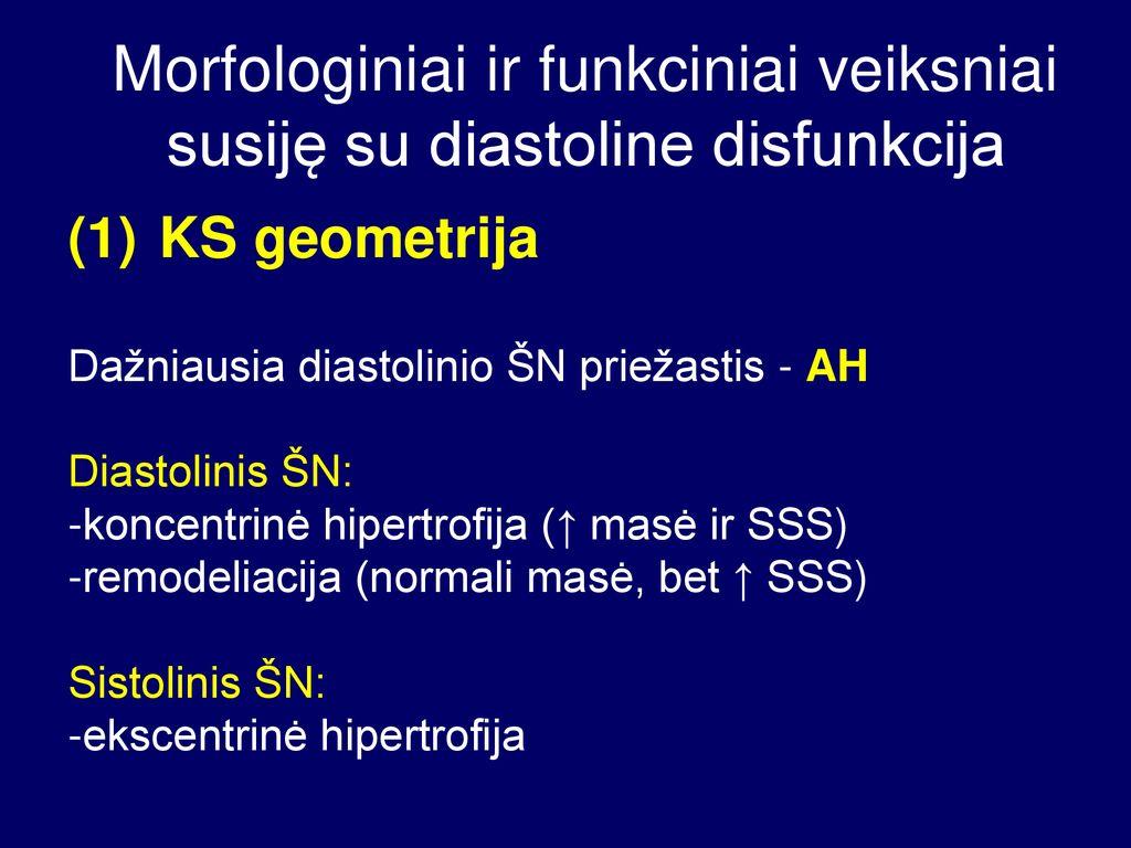 hipertenzija ir klaidinga hipertrofija